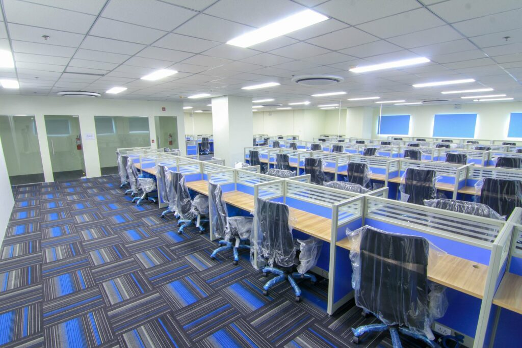 Professional call center office pictures in Cebu when searching for BPO offices